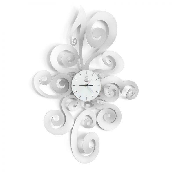 orologio da parete particolare noemi bianco