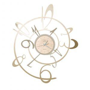 Orologio New George di colore bronzo e nocciola