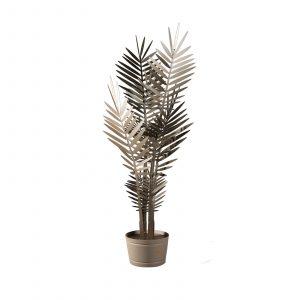 Lampada Kenzia grande: lampada a forma di pianta ornamentale