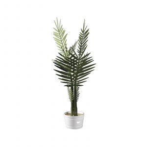 Lampada piccola a forma di pianta ornamentale Kenzia di Arti e Mestieri